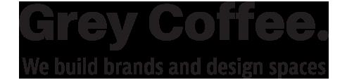 Creative Design Agency - Grey Coffee Logo