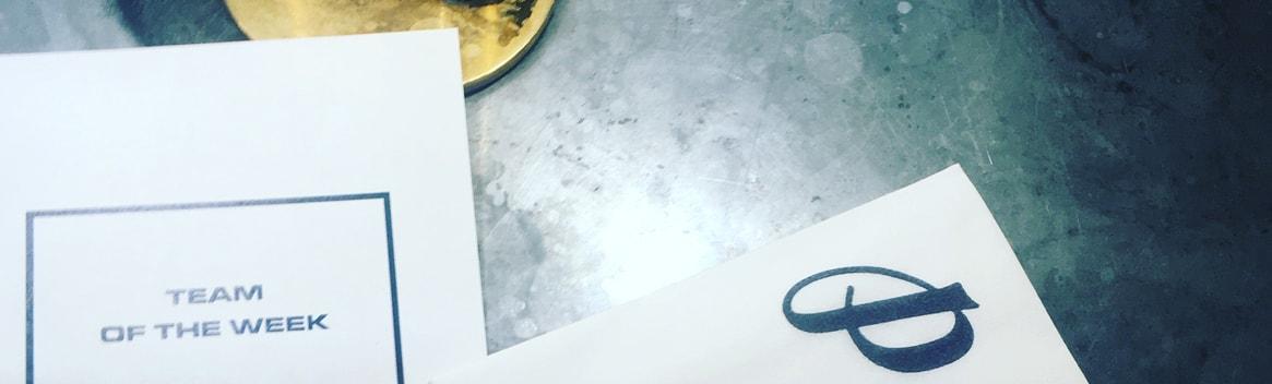 Palomar Restaurant brand assets - Grey Coffee Review