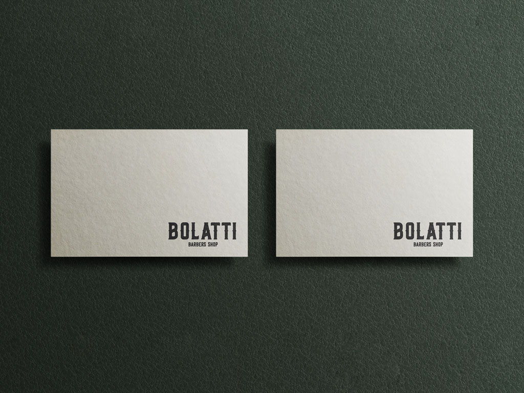 Bolatti Barbers Shop - Interior Bar Visual 7 - Grey Coffee