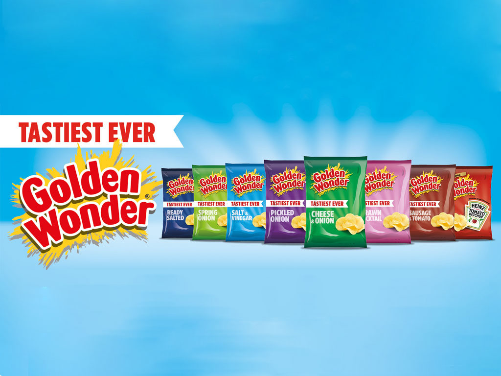 Golden Wonder - Brand Visuals