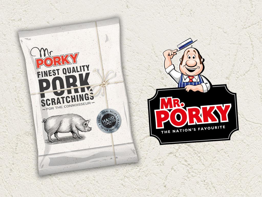Mr Porky - Social Media Visual Example - Visual 1 - Grey Coffee