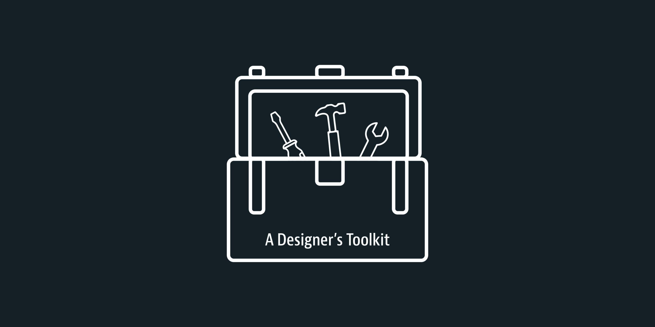 Designer Tool Kit Illustration - Tool kit Illustration - Grey Coffee Blog Post